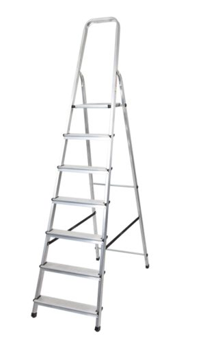 Scara aluminiu pliabila cu 7 trepte