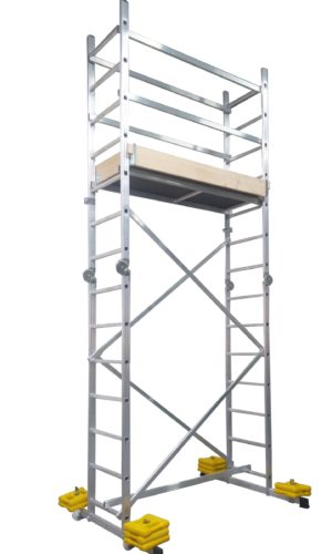 Aluminum Scaffold HECTOR Dimensions 2.8×1.38×0.6 m