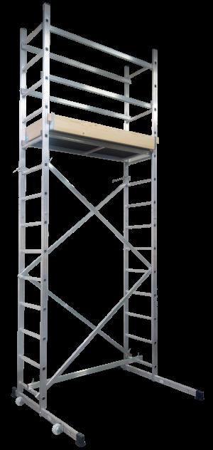 Schela profesionala din aluminiu ZEUS dimensiuni 2.8×1.38×0.6 m