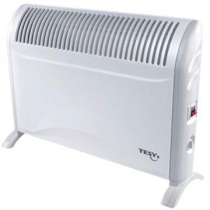 Convector electric de podea Tesy CN214ZF, 2000 W, 3 trepte de putere, Termostat de siguranta, Termostat reglabil