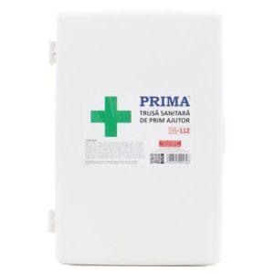 Trusa medicala de prim ajutor Fixa Vetro, pentru dotare obligatorie, 385x285x115mm, avizata de Min Sanatatii