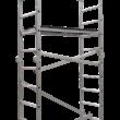 Schela profesionala aluminiu IKAR, 2.95×1.34×0.55 m, inaltime maxima platforma 1.96 m
